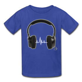 Tshirt power music by customstyle