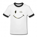 Tshirt smiley clin d'oeil by customstyle