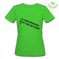 Tshirt La masturbation n'est pas un crime by customstyle