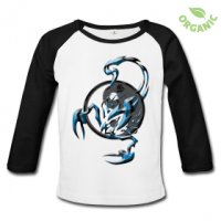 Tshirt Scorpion Tribal by customstyle
