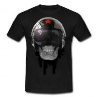 Tshirt ccp helmet of death by customstyle
