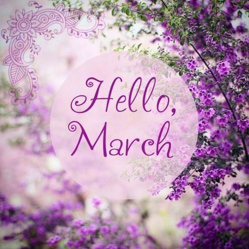 Bonjour Mars / Hello March