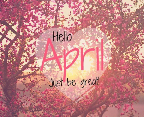 Bonjour Avril / Hello April