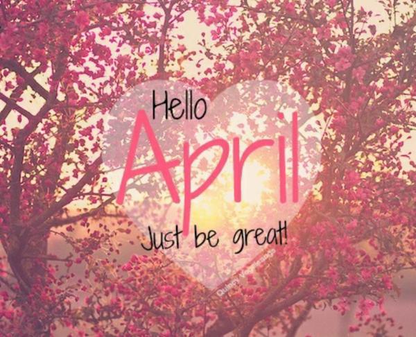 Bonjour Avril / Hello April