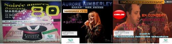 L'Association Solidarité Labardaise organise une grande soirée MARGAUX(33)