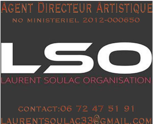Votre spectacle, en organisation avec Laurent SOULAC (Associations,Mairies,Comités etc..)