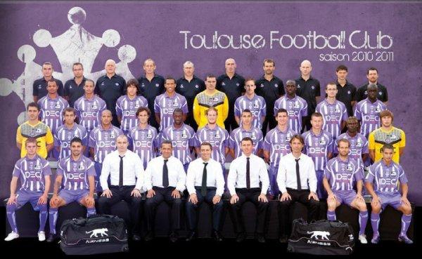 Equipe du TFC saison 2010/2011