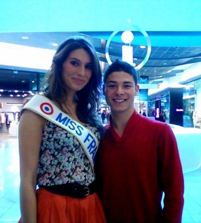 Miss France 2011 et Moi ! :D