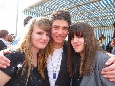 Marion, Moi et Fanny au carnaval ! :D