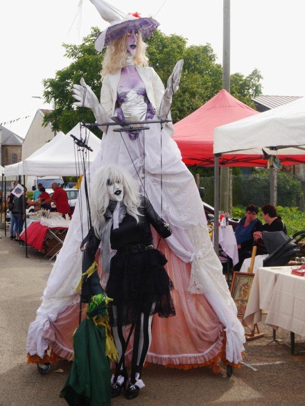 Marionnette géante...