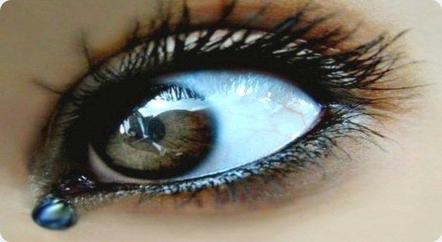 Les larmes prouvent leur amour, elles n'apportent pas leur remède !