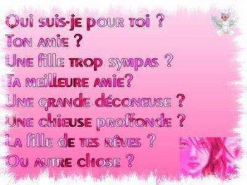 Qui Suis - Je Pour Toi ?,???