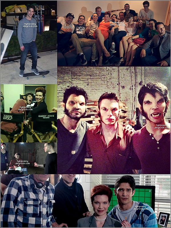 T Voici de nouvelles photos de Tyler postées sur Twitter. P