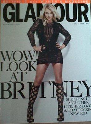 Scans du magazine Glamour UK d'Octobre !