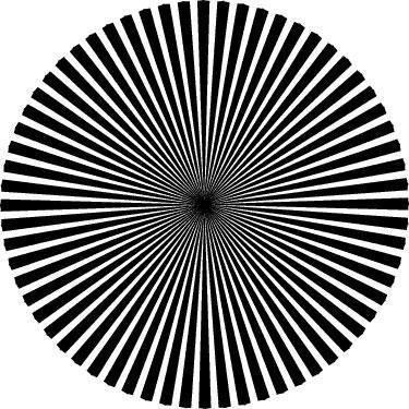 Rond noir.