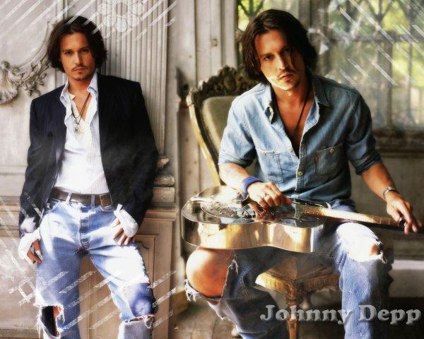 """""""Je déteste me voir à l'écran"""" Johnny Depp"""