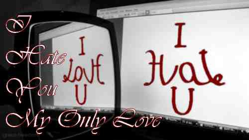 I Hate You My Only Love