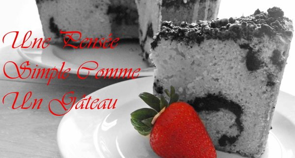 Une Pensée Simple Comme Un Gâteau