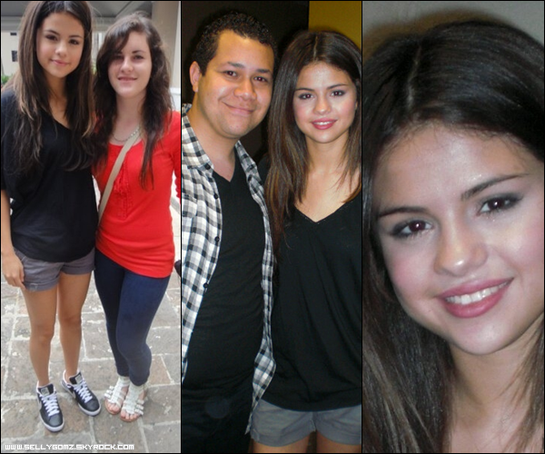 23.01.11 ~ Selena déchaînée sur scène donnant un concert à Puerto Rico + Photos avec des fans à Puerto Rico.