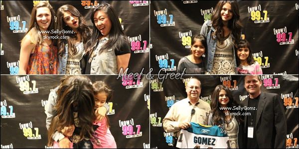 13.12.11 ~ Selena était à San Jose en Californie afin de donner un concert Jingle Ball et un meet & greet avec ses fans!