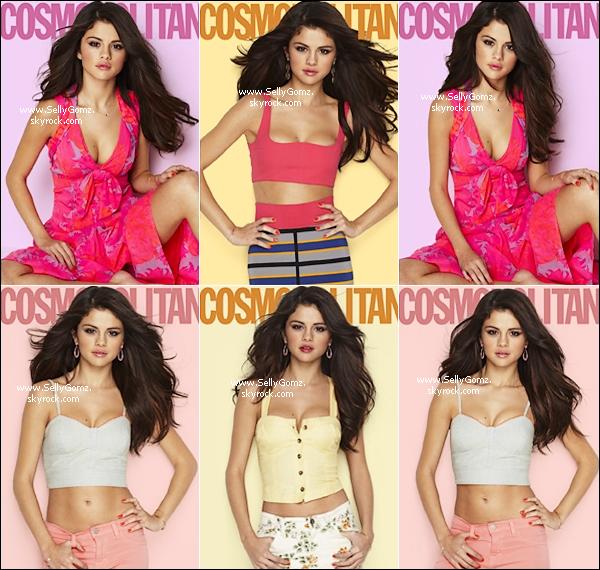 Selena a posée pour le magazine Cosmopolitan et découvrez le photoshoot ci dessous. Votre avis? Réussi ou pas ce shoot ?