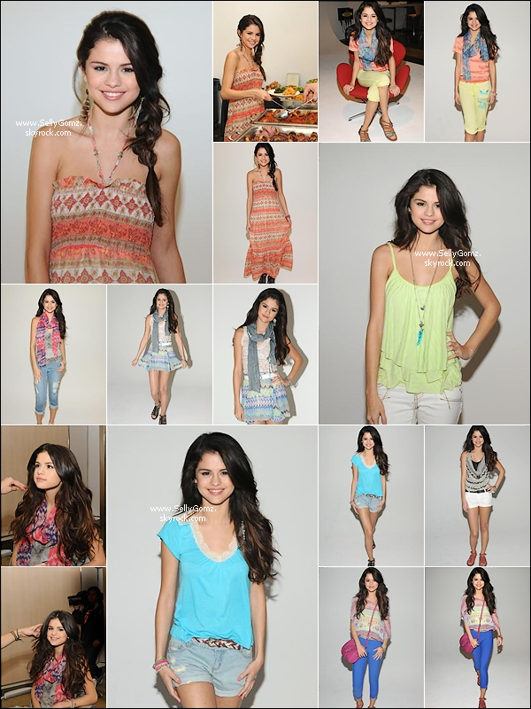 Un nouveau promoshoot de la collection de vêtements Dream out loud de Selena. Cette collection printemps vous plait ou vous déçoit?