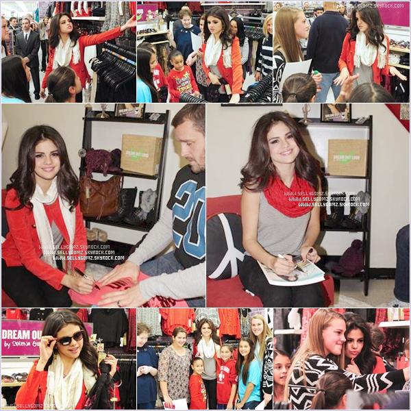 11.11.12 ~ Selena et sa cousine quittant leur hôtel pour se rendre au magasin Kmart pour conseiller ses fans sur sa collection de vêtements à NY.
