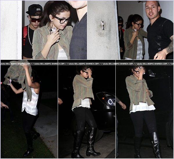19.11.12 ~ Selena a été vue se rendant à deux rendez-vous médicaux à Los Angeles et allant au restaurant dans la soirée avec Justin Bieber !