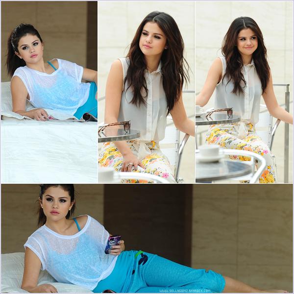 Découvrez les photos de Selena lorsqu'elle faisait son shooting photo pour la collection printemps de Dream out Loud.