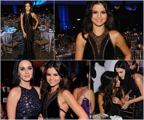 27.11.12 ~ Selena était présente à l'événement UNICEF Snowflake ball prenant son rôle d'ambassadrice très à coeur.