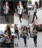 04.12.12 ~ Selena quittant le centre médical de Los Angeles puis allant au restaurant de Sushi Yamato avec sa copine Samantha Droke.