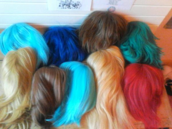 Mes Wigs ! :3