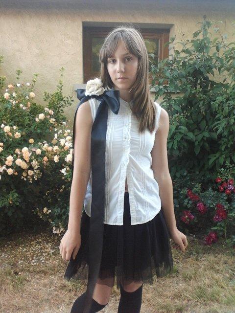 La moitié de mon cosplay Camélia Japonica ! :3