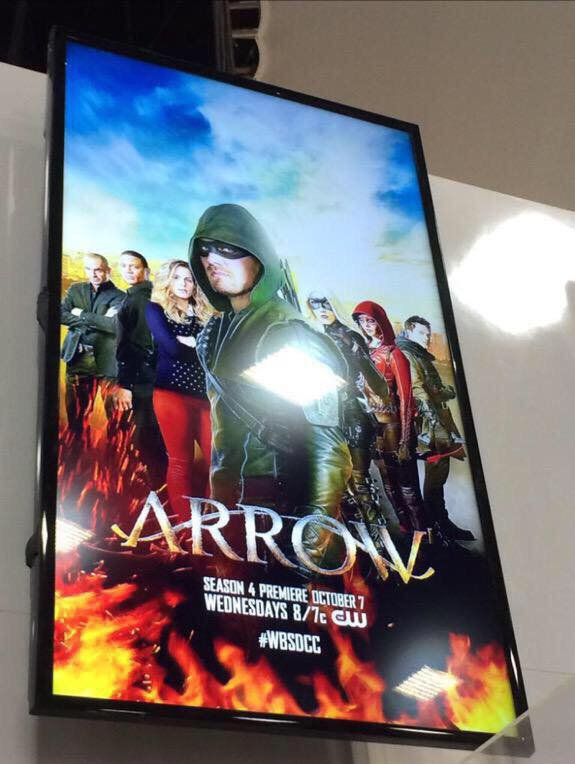 arrow season 4 l'affiche promo