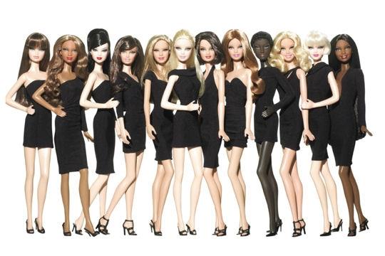 Un idéal féminin : Barbie.