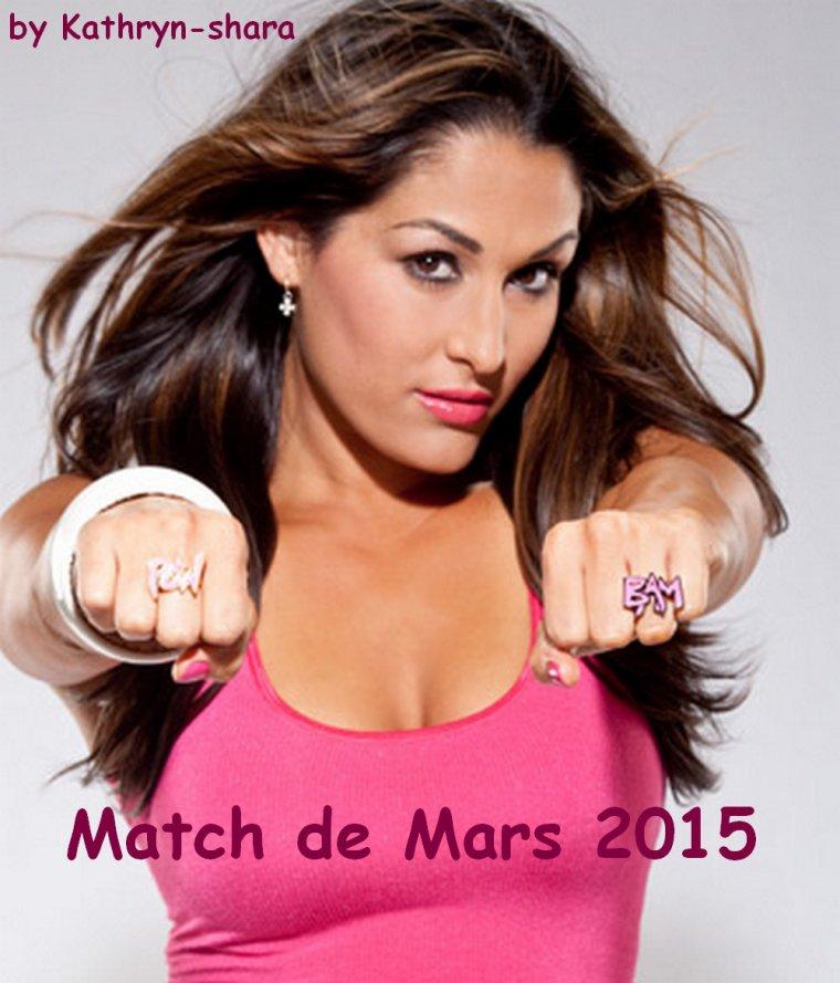 Préparation de matchs de mois de Mars 2015