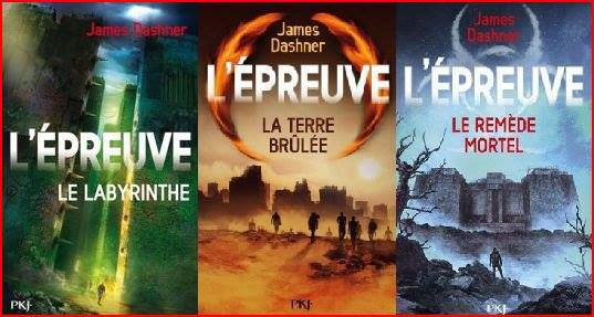 Trilogie Le Labyrinthe - James Dashner
