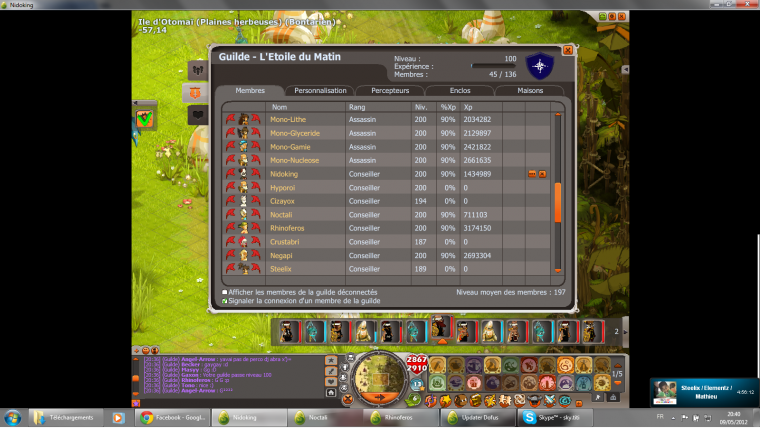Guilde up 100 :)