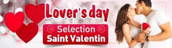 -5% sur votre prochaine commande !! Offre spécial Saint valentin !