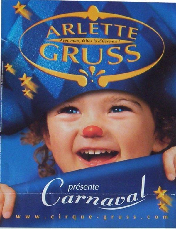 ARLETTE GRUSS EN AFFICHES DE 2000 à 2007