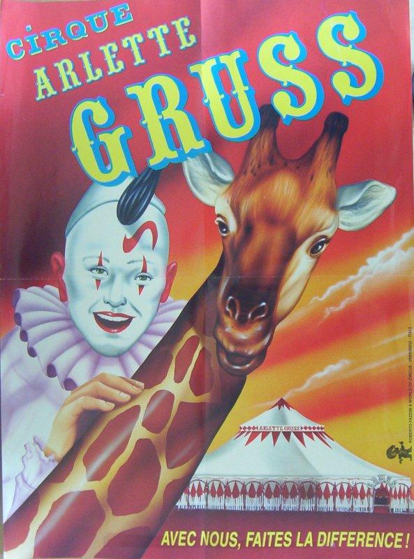 ARLETTE GRUSS EN AFFICHES DE 1994 à 1999