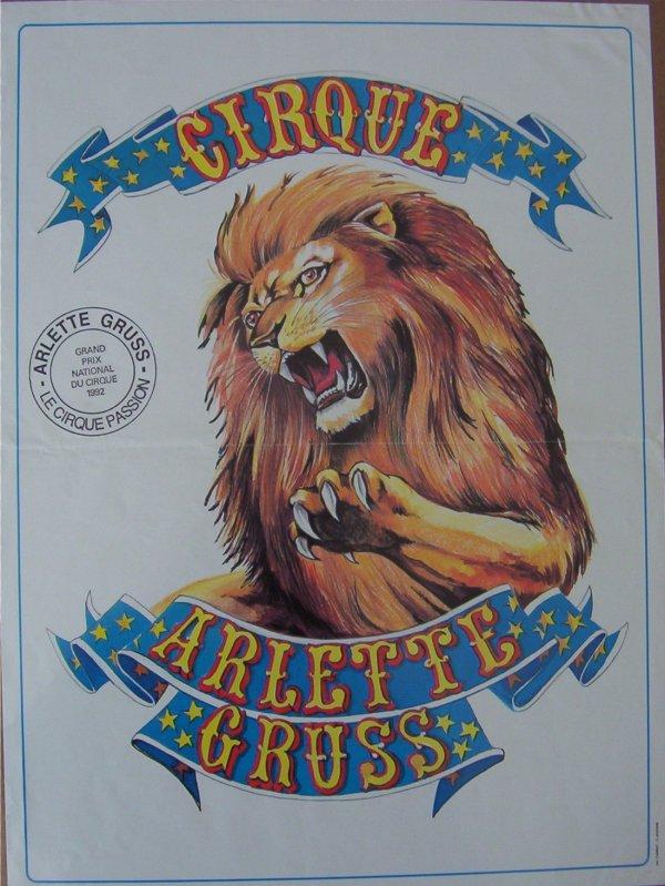 ARLETTE GRUSS EN AFFICHES DE 1990 à 1993
