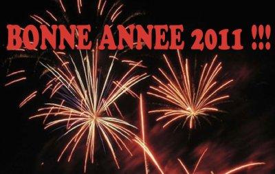 Bonne Anneé 2011