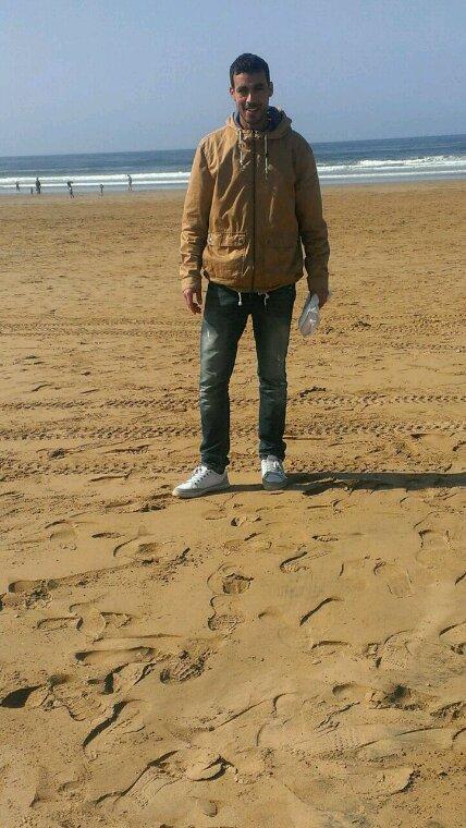 La plage d'agadir maroc