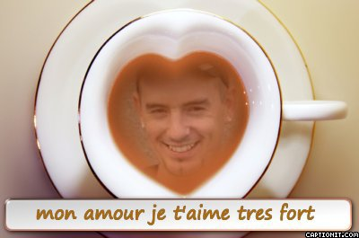 mon coeur je t'aime si fort gros gros bisous mon amour !!!