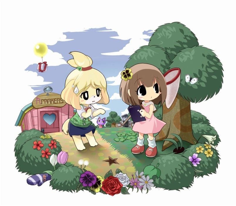 Ma Ville. Ma Vie. ANIMAL CROSSING 3DS New Leaf.