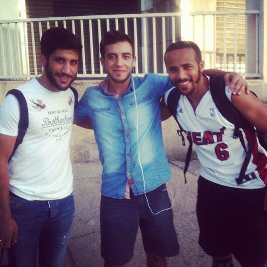 avec les deux joueurs du #MCA
