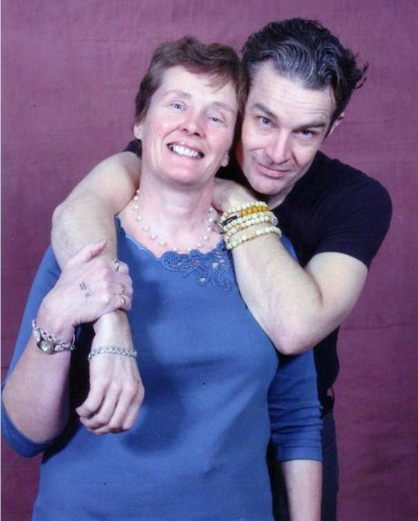 James et sa maman
