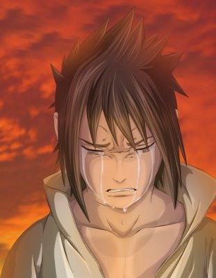 sasuke qui pleure