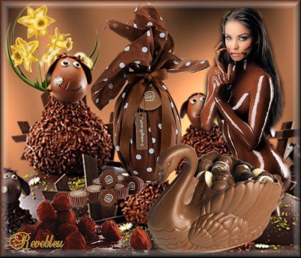 CADEAU POUR VOUS ATTENTION LE CHOCOLAT